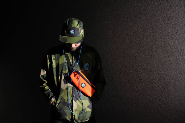 SUPERLIGHT YMGU® HIPBAG - neon orange