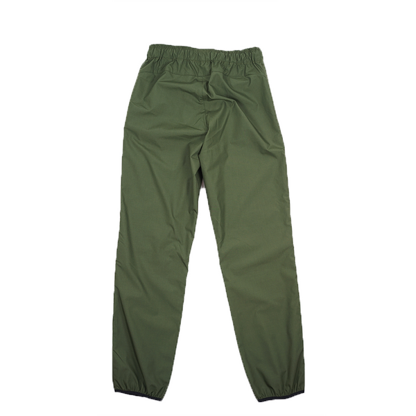 ABORRE TRACKSUIT PANTS - forest green ultralight