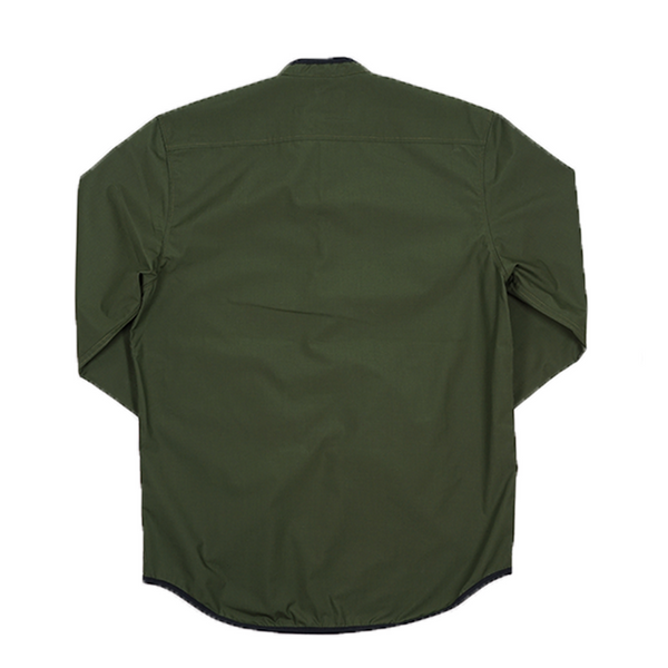 ABORRE TRACKSUIT PULLOVER - forest green ultralight
