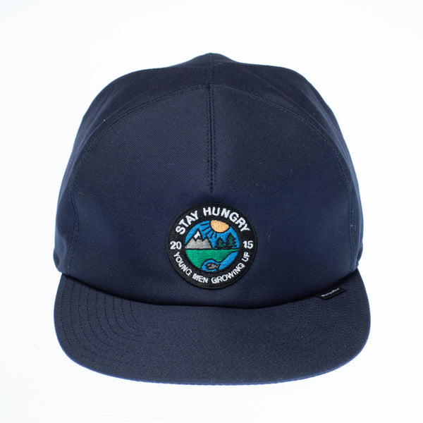 YMGU Sympatex® 5 panel cap - navy blue