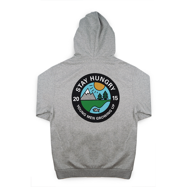 YMGU® HOODIE LIGHT - HEATHER GREY COTTON