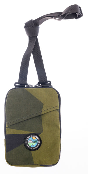 YMGU® Shoulderbag – green camou