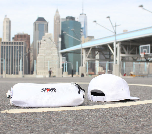 SUPERLIGHT SPORTS HIPBAG - white