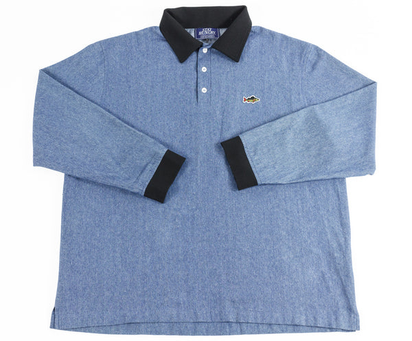 ABORRE Polo shirt - denim