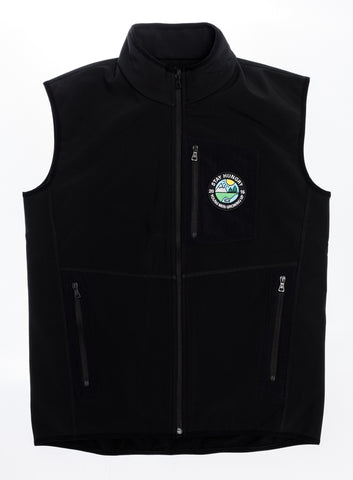 YMGU® Fleece Vest - black