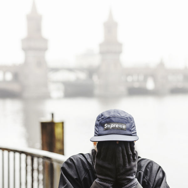 SPREE RIVER 5 panel cap - navy