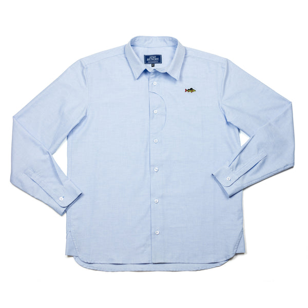 ABORRE button down shirt – light blue