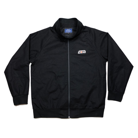 WITNESS tracksuit jacket – black