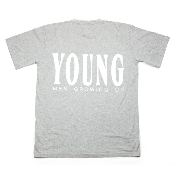 YMGU® t-shirt – heather grey