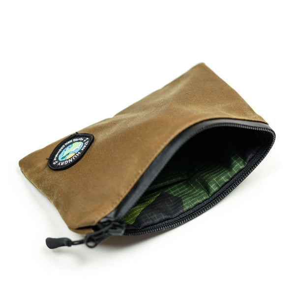 MILLERAIN / PATCH pouch – light brown