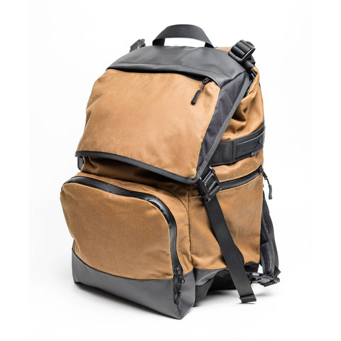 BACK ON TRACK backpack – light brown