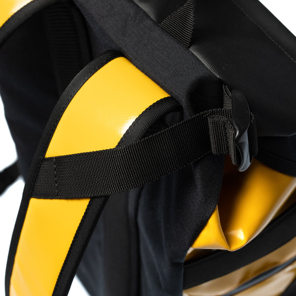 YMGU® BACKPACK - black & yellow