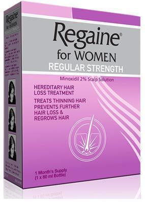 Regaine for Women Regular Strength 60ml Hair Loss Treatment