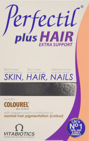 Vitabiotics Perfectil Plus Hair Extra Support Tablets