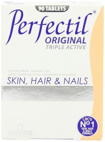 Vitabiotics Perfectil Triple Active Skin, Hair and Nails Tablets