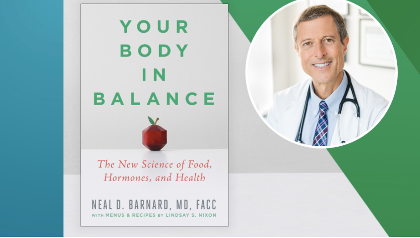 Your Body In Balance Book Virtual Talk and Cook-Along