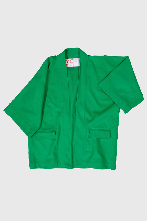 LF Haori Jacket in North Texas Green