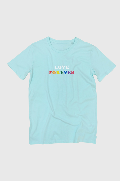 LF Love Forever Tshirt in Caribbean Blue