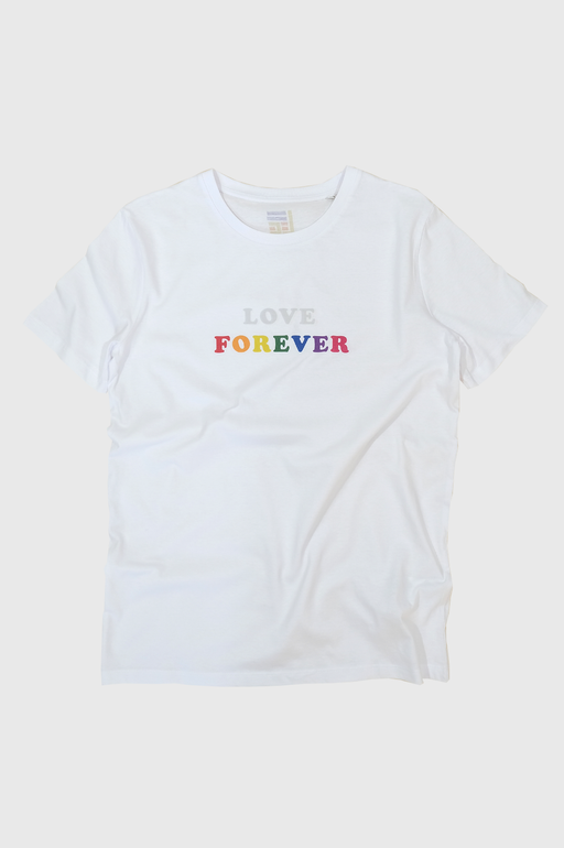 LF Love Forever Tshirt in White