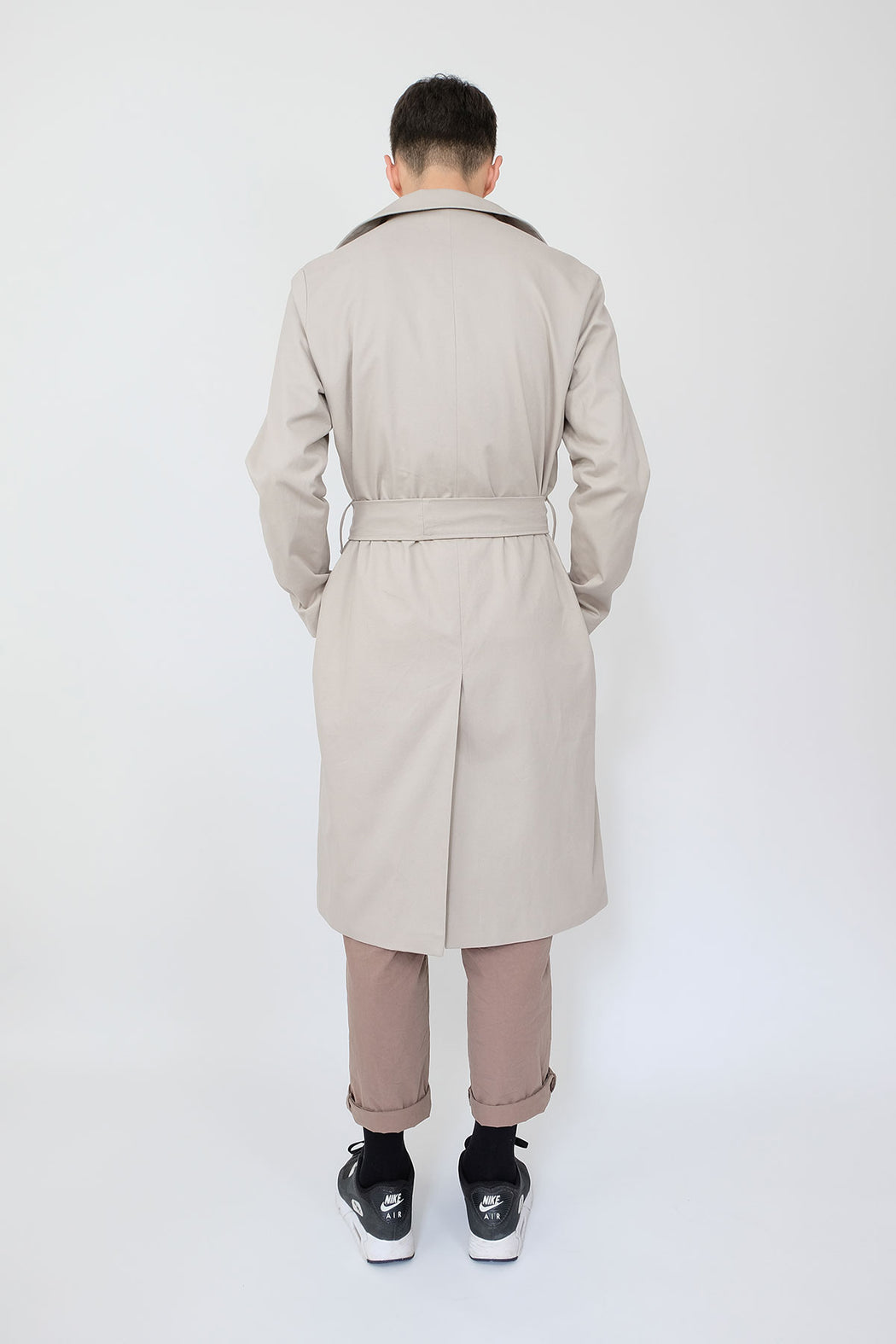 LF Trench Coat in Moonshine Grey