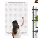 Around The World Giant Word Search Puzzle