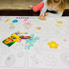 Easter Egg Hunt Table Top Coloring Banner