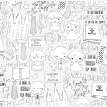 Church of Jesus Christ of Latter Day Saints Table Top Coloring Banner