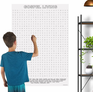 Gospel Living Giant Word Search Puzzle