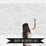 Happy Valentines Day Coloring Sheet