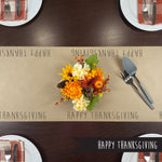 Happy Thanksgiving Kraft Paper Runner