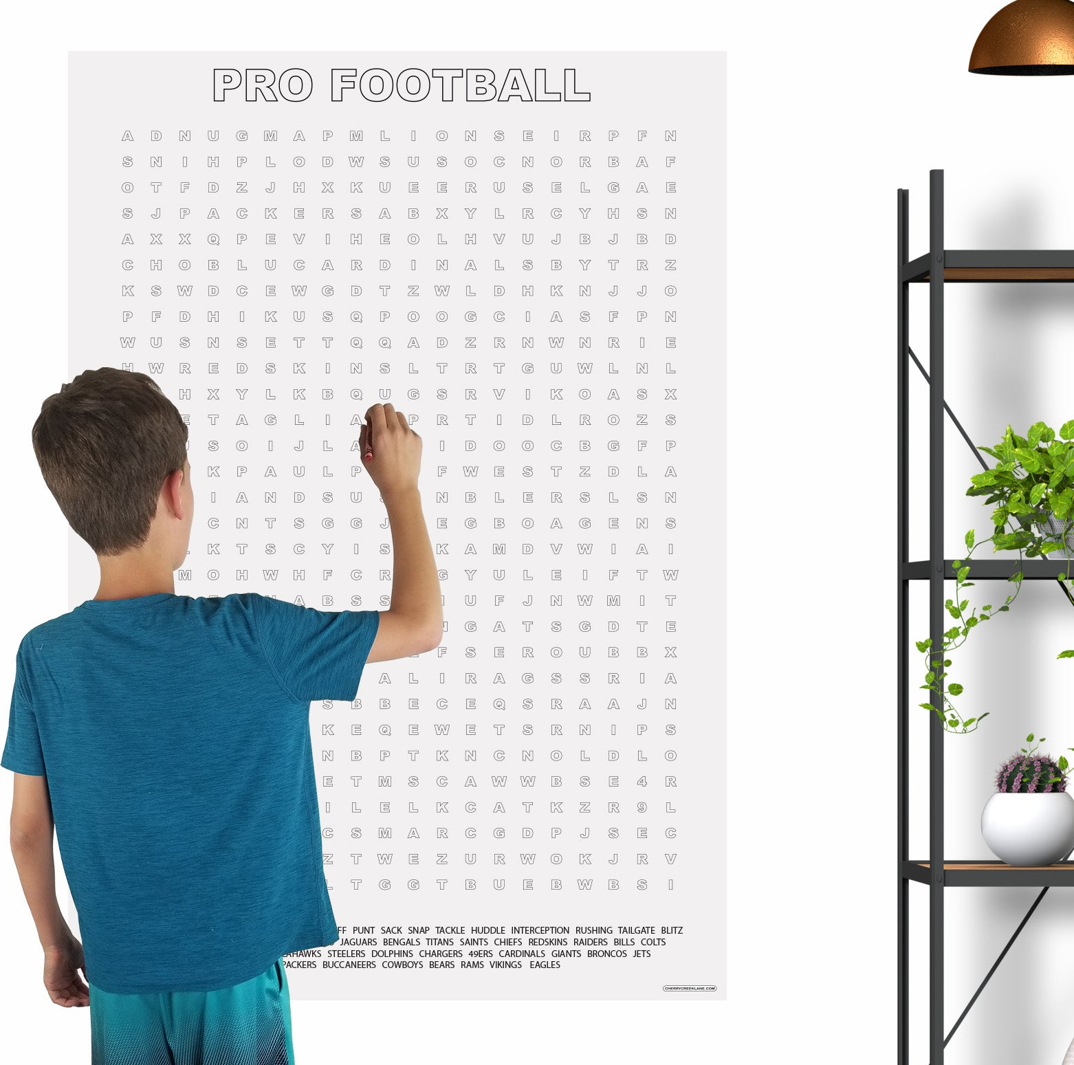 Football Giant Word Search Puzzle