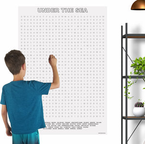 Under The Sea Giant Word Search Puzzle