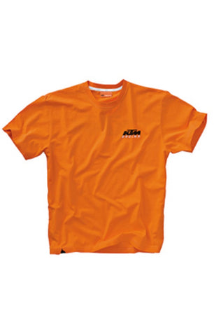 KTM Racing Tee Orange Adult Logo T-shirt