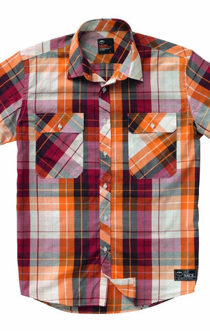 KTM Checkered Short Sleeve Shirt
