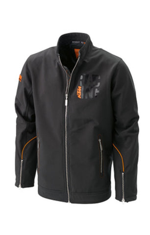 KTM SOFTSHELL JACKET MEN'S LIGHTWEIGHT LOGO JACKET