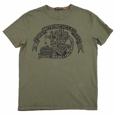 Triumph Johnson Motors 1959 Engine T-shirt