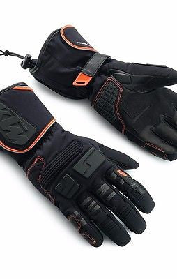 NEW KTM PURE ADVENTURE GLOVES OFFROAD TOURING ALL SEASON WATERPROOF ALL SIZES!