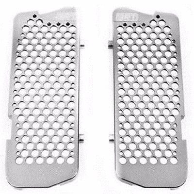 NEW SRT PRO-ARMOR RADIATOR GUARDS SILVR KTM HUSABERG HUSQVARNA $162.99 FREE SHIP