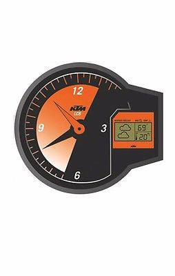 NEW KTM REV-CLOCK DIGITIAL CLOCK ANALOG CLOCK & DIGITAL WEATHER DISPLAY $39.99