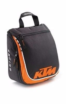 KTM DOPPLER TOILET BAG MEN'S LOGO TRAVEL BAG