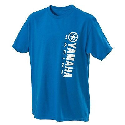 Yamaha Racing Vertical Logo Tee