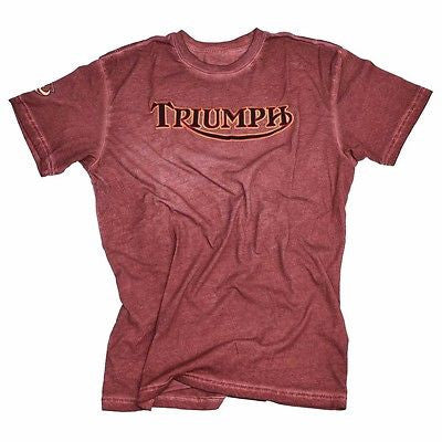 NEW TRIUMPH UHL WILD ONE T-SHIRT MEN'S STAIN WASH TEE NOW $59.99 FREE SHIPPING!