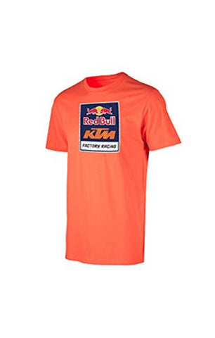 KTM Red Bull Logo Tee Orange