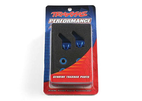 Traxxas 3636A Aluminum Steering Blocks Anodized - Blue