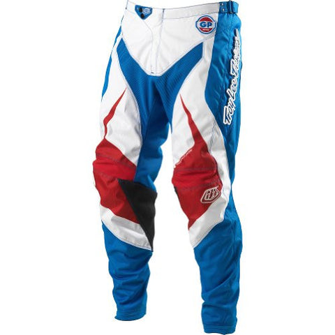 Troy Lee Designs GP Mirage Youth MotoX/Off-Road/Dirt Bike Motorcycle Pants - Blue / Size 24