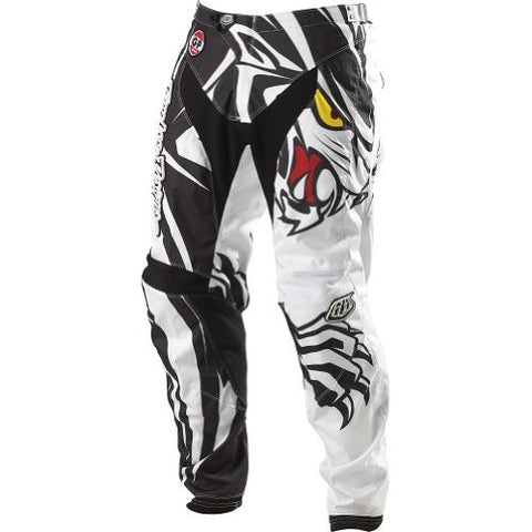 Troy Lee Designs GP Predator Men's Dirt Bike Motorcycle Pants - White / Size 38