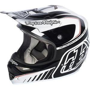 Troy Lee Designs Air Delta Helmet - X-Large/White/Black
