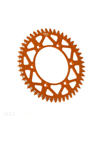 4MX KTM Aluminum Rear Sprocket Orange