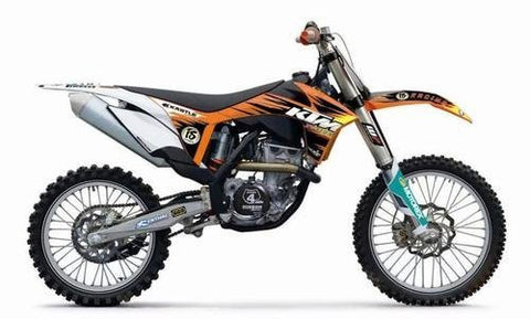 NEW KTM FACTORY SX GRAPHICS KIT SX SX-F XC 125-505 2011-2012 77208190600