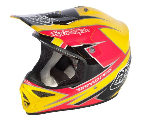 Troy Lee Designs Air Stinger Yellow/Pink Size X-Large